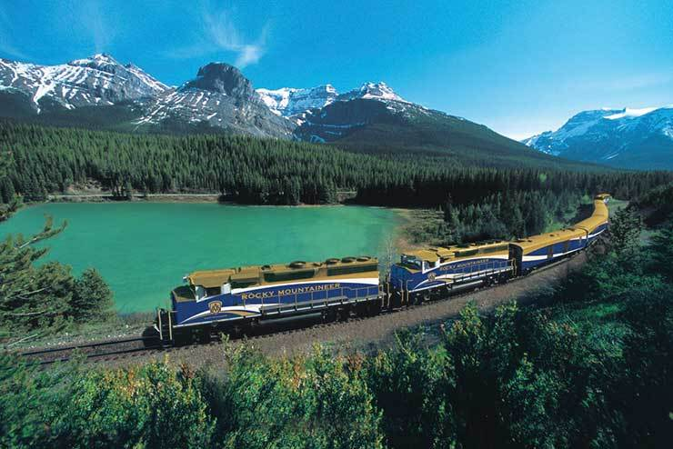 W&O Rocky Mountaineer