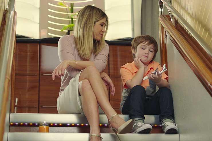 Watch Emirates' new 'Jen's back' TV spot
