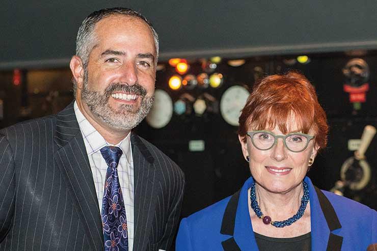 Steven Spivak and Celia Sandys
