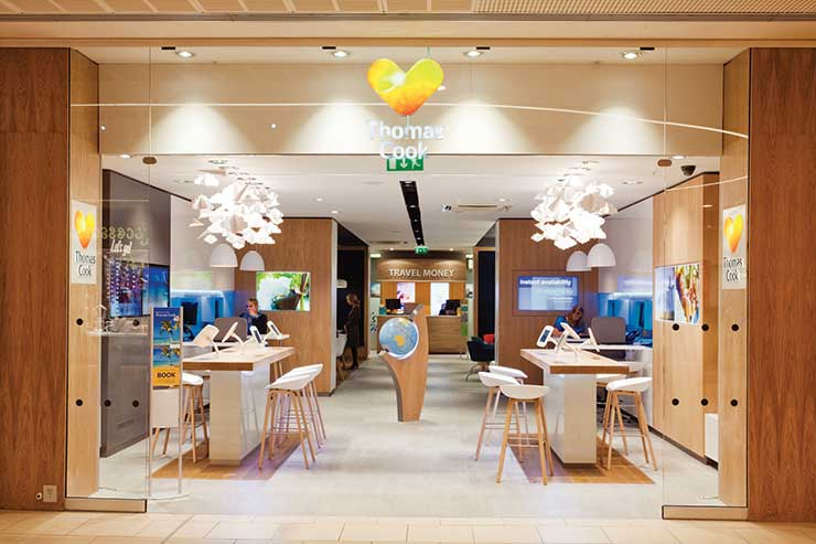 Thomas Cook to close 39 stores