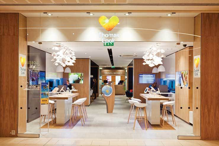 Thomas Cook Lakeside concept store shot