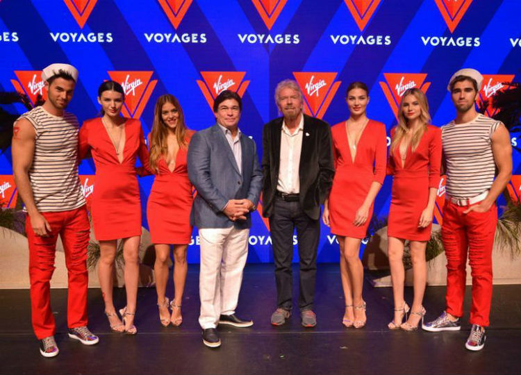 Branson officially launches Virgin Voyages