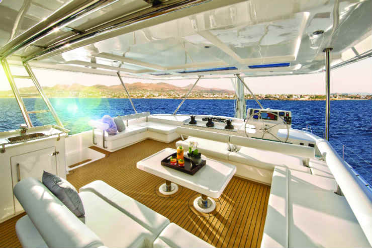 Send your clients sailing on private yacht charters