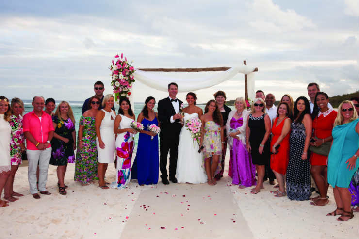 The art of beautiful: Showcasing Beachcomber's in-house wedding planning