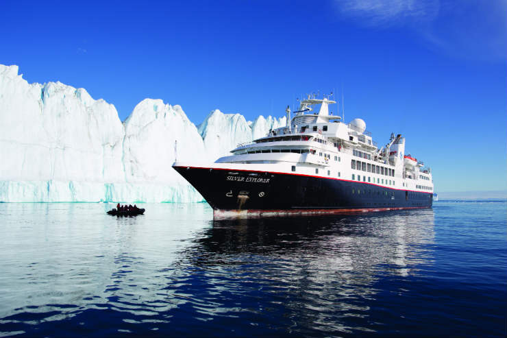 Silversea adds private jet fly-cruises to Antarctica