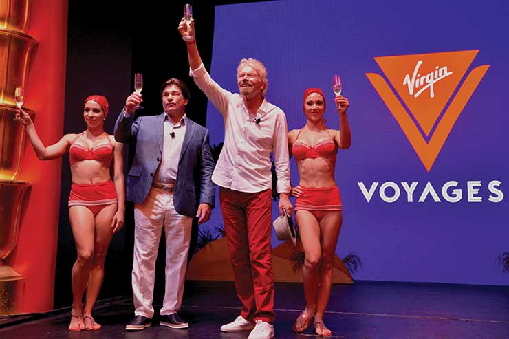Branson on bringing Virgin Voyages to UK shores and why Brexit is a 'dreadful mistake'