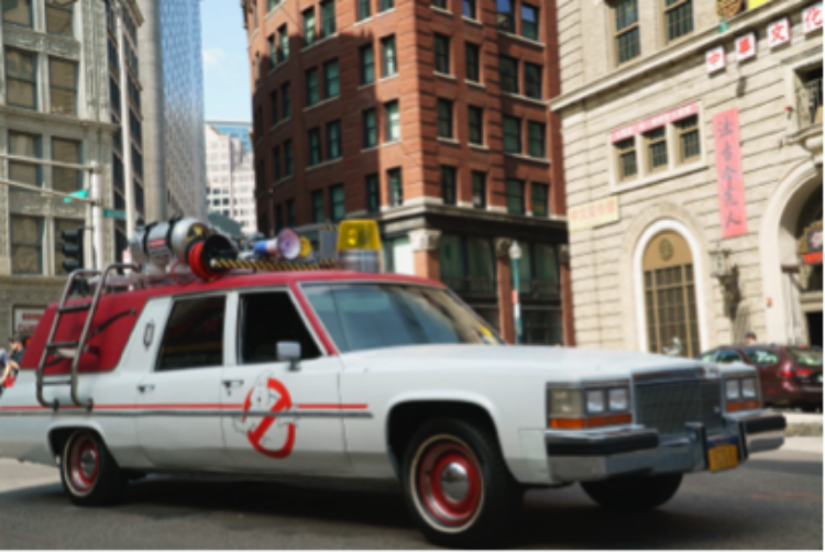 Minicabit offers rides in Ghostbusters car for Halloween