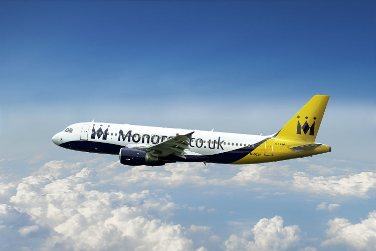 Monarch cuts flight-only Atols and credit card charges on same day