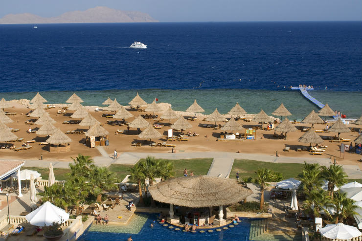 Egypt's tourist chief said British visitors will see improvements in Sharm el Sheikh