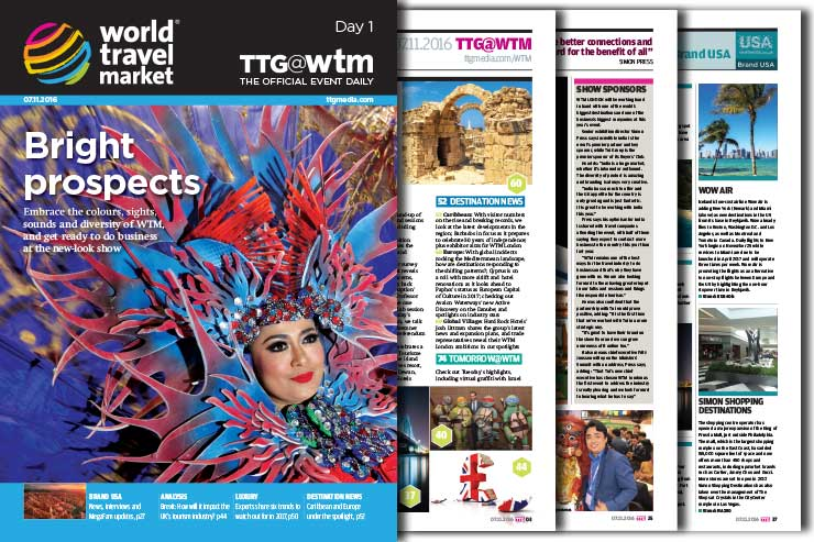 Read the WTM 2016 Official Daily edition: Day one