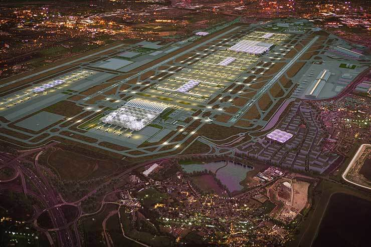 Crossrail in track row with Heathrow