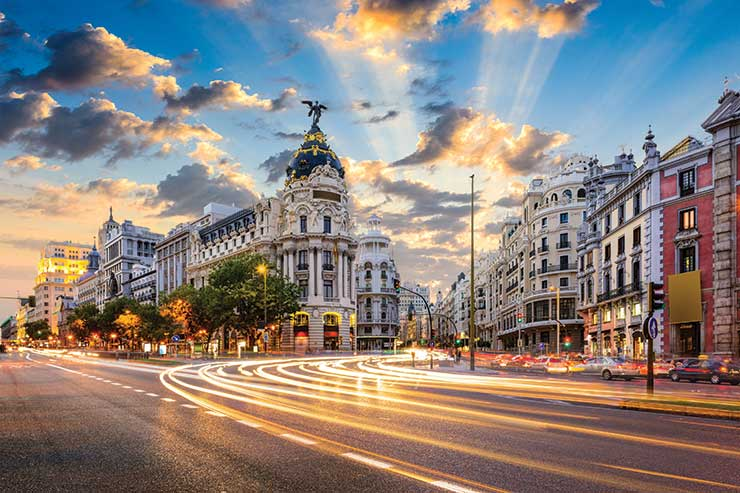 Madrid has been one of the worst affected regions in Spain