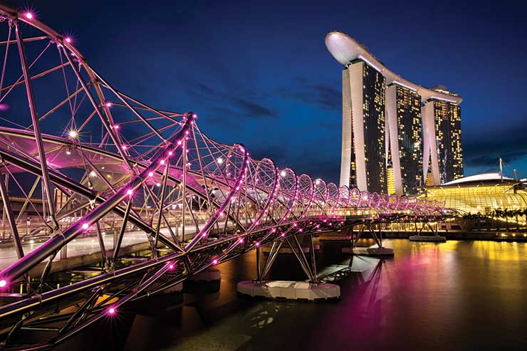Singapore night scene iStock_84144655