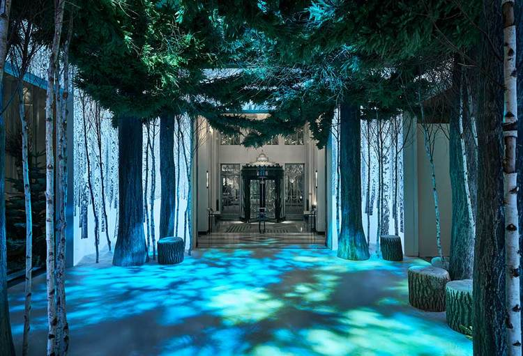 Apple's Jony Ive reveals Christmas installation at Claridge's