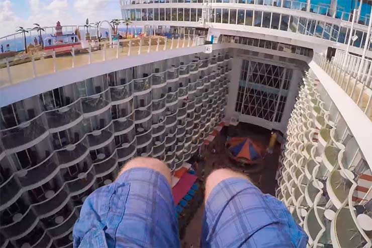 One minute tour of Harmony of the Seas