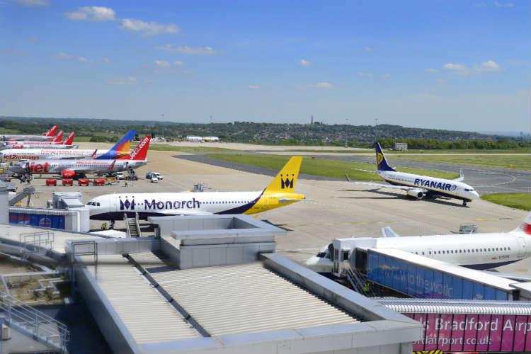 Leeds Bradford airport to get rail station