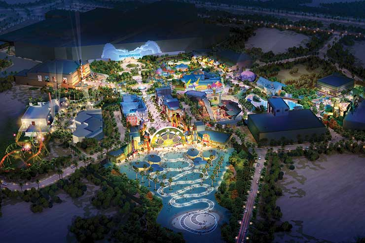 The bright parks lighting up Dubai