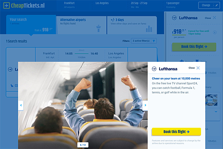 Ten airlines sign up to scheme that will 'reinvent flight shopping'