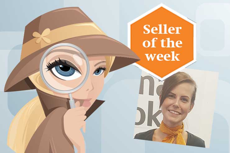 Seller of the week: Roberta Montrimaite