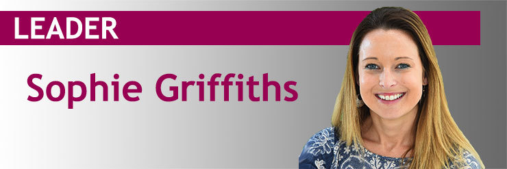 Sophie Griffiths Leader image