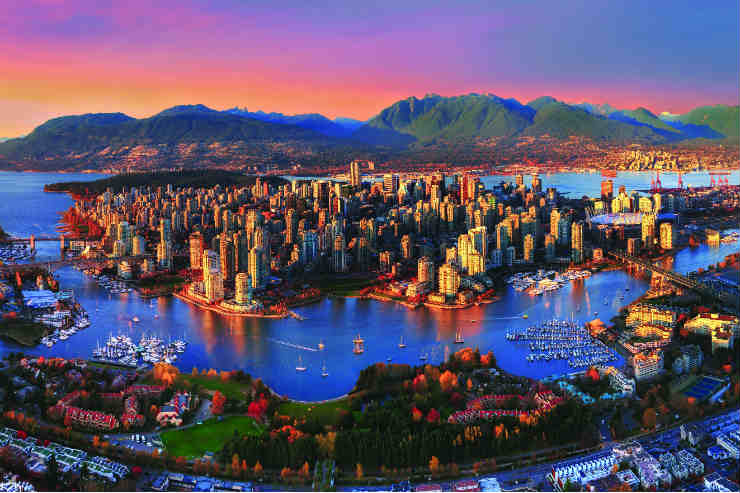 A new view of Vancouver
