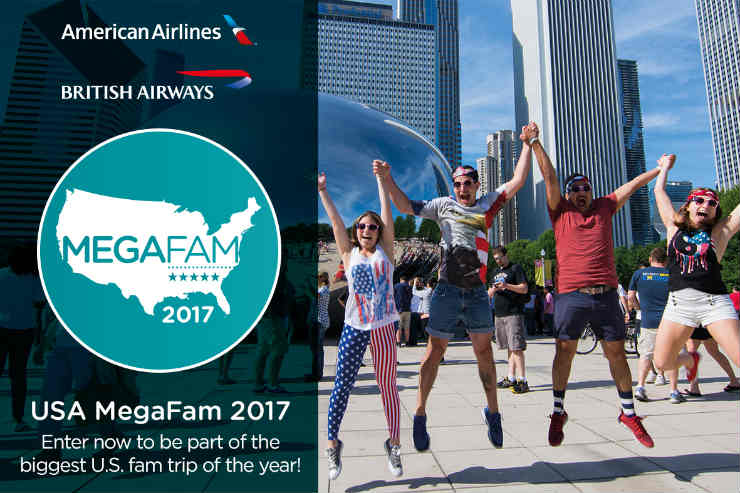 NEW: Be part of the Brand USA MegaFam 2017