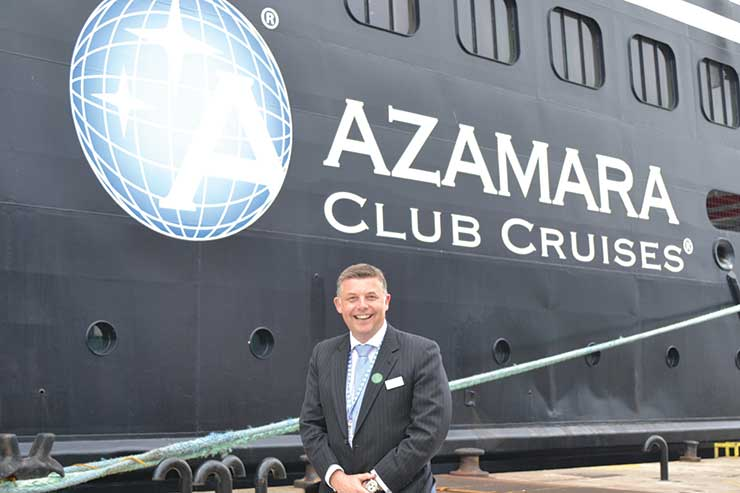 Richard Twynam to leave Azamara