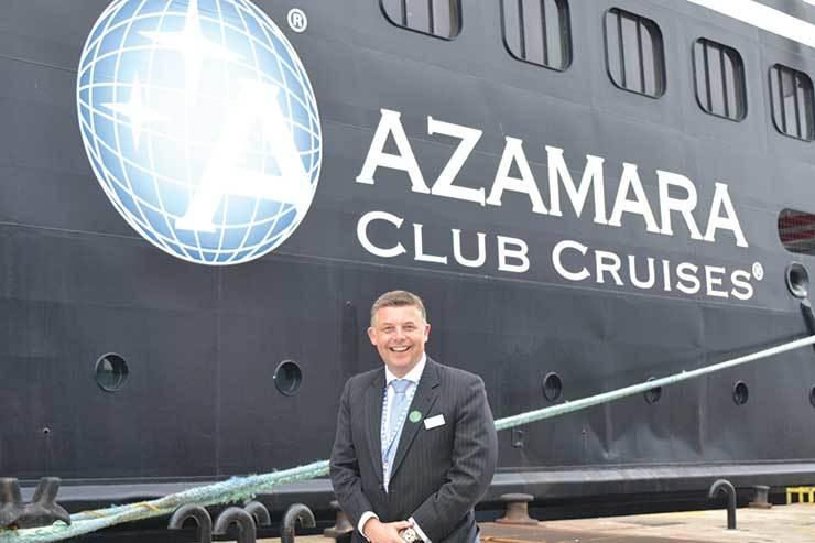Richard Twynam, Azamara Cruises