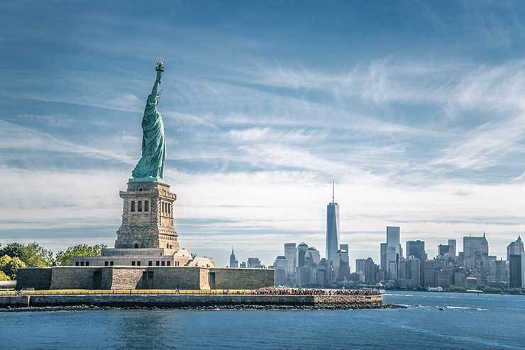 Statue of Liberty, New York iStock-513732548