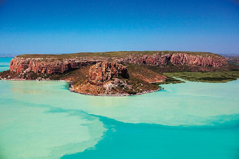 The islands of Kimberley, Western Australia