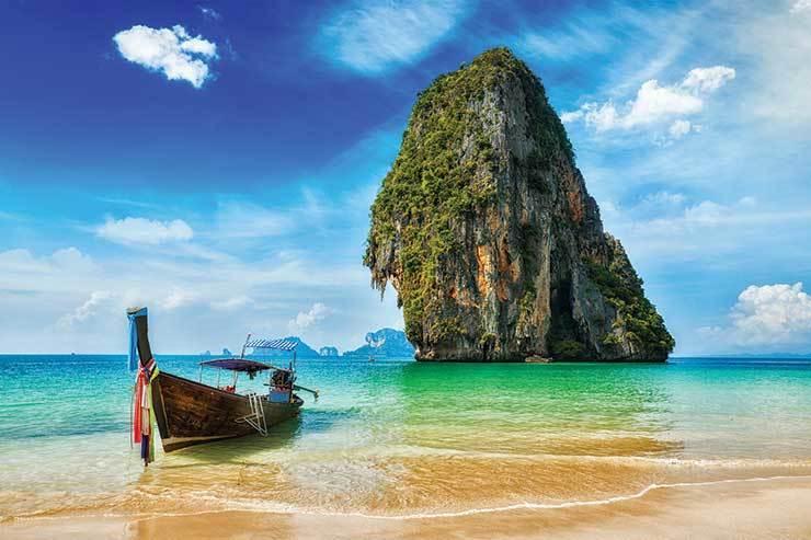 Tropical vacation holiday Thailand beach bigstock 95805536