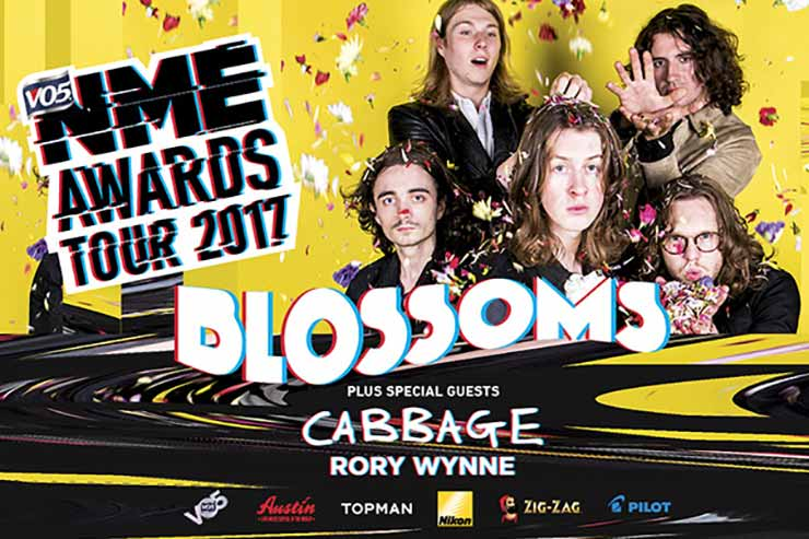 Be a part of the VO5 NME Awards 2017 UK tour coming soon to a town near you