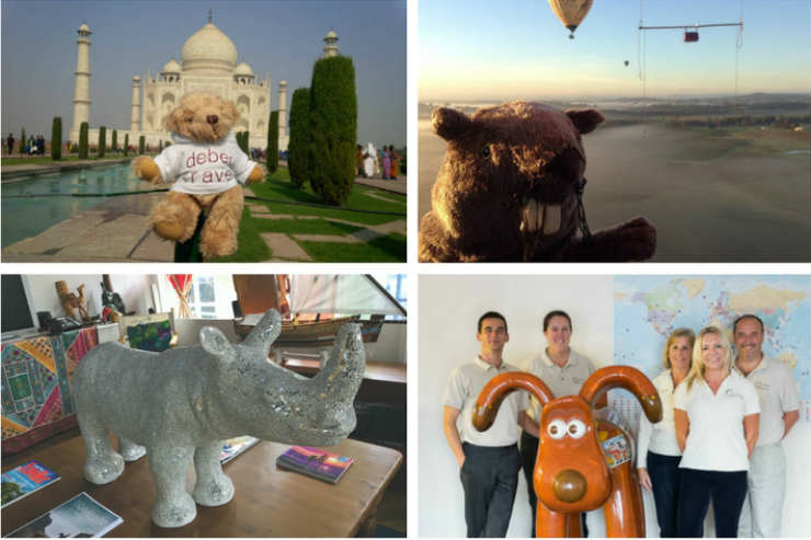 With a little help from your friends: Meet the agency mascots