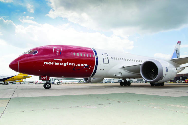Norwegian unveils raft of US routes from Scotland and Ireland