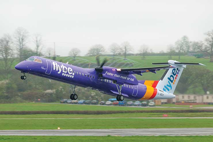 'Talks begin' to nationalise failed carrier Flybe