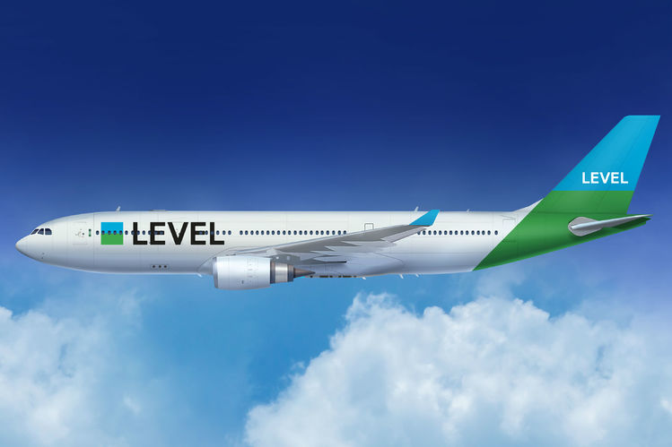 Level lands at Luton with first flight