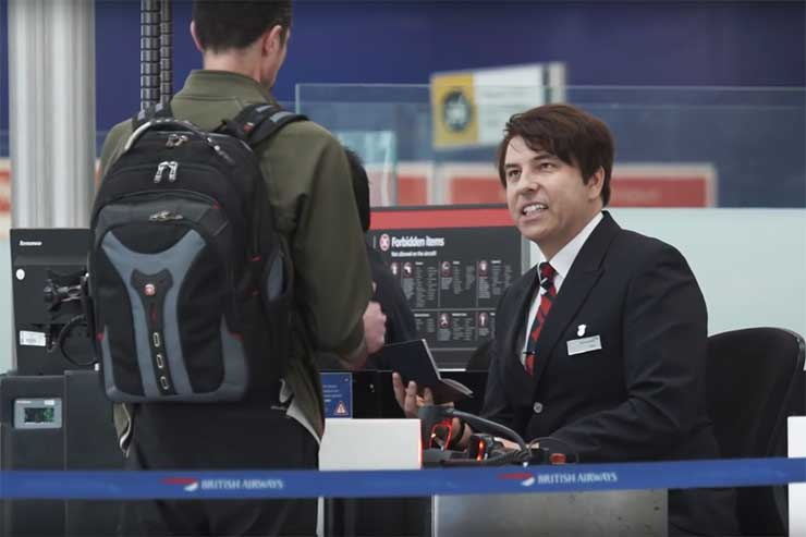 Celebrities turn on the funny with BA for Red Nose Day