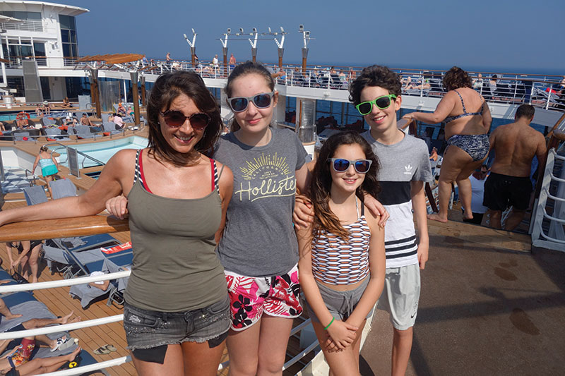 All aboard: Family cruising to India
