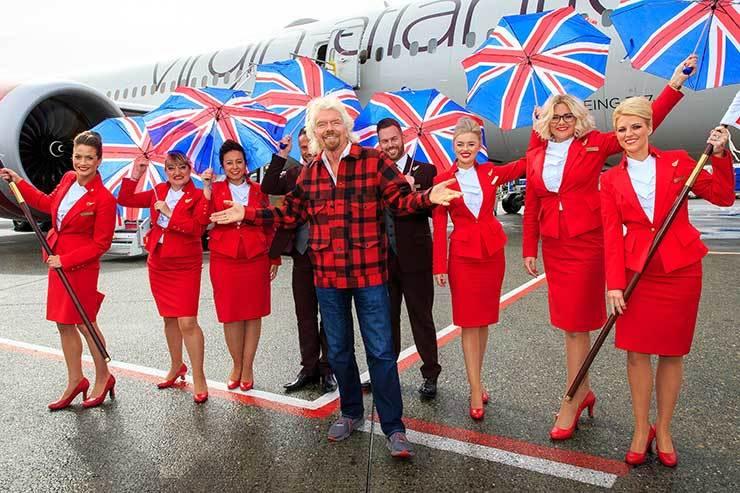 Virgin Atlantic, Richard Branson promotion