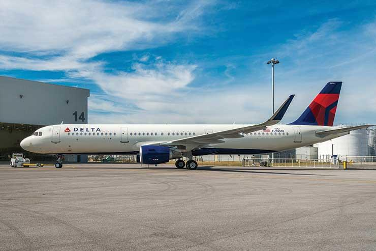 Delta named as best global airline for punctuality