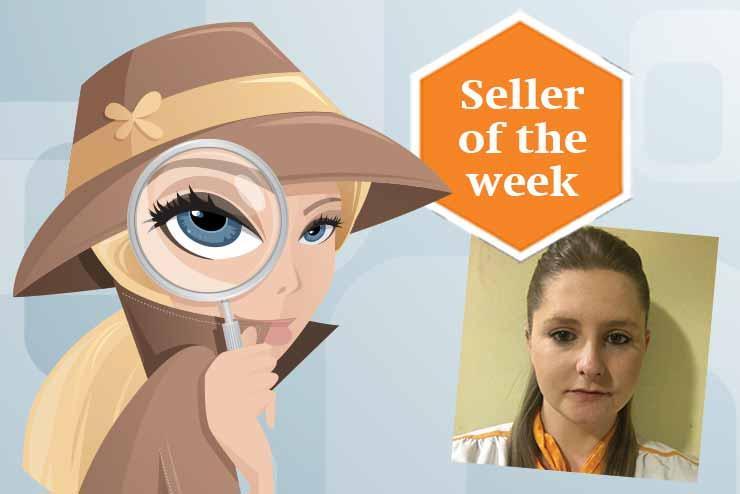 Seller of the week: Rachel Byne