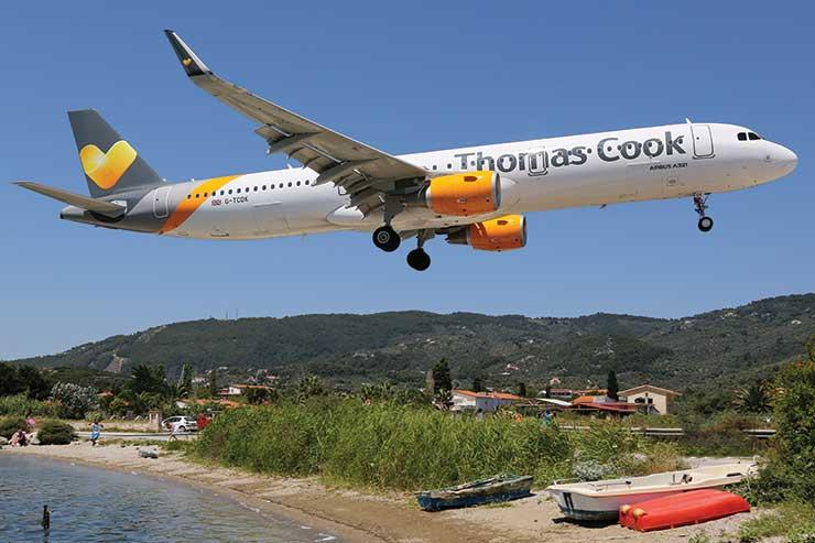 Thomas Cook aircraft in emergency landing after wing part breaks off