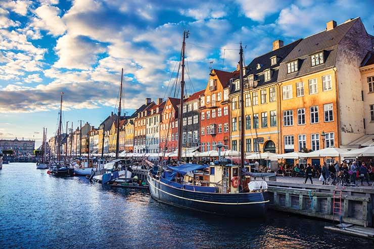 Copenhagen waterside iStock-540594608