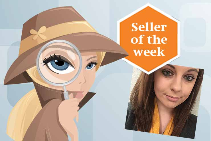 Seller of the wek: Lara Chlopas, Thomas Cook