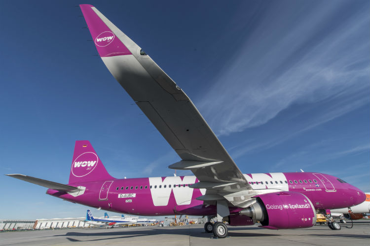 Wow air to operate new A320neo from May