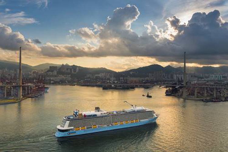 Royal Caribbean to station third vessel in Asia Pacific