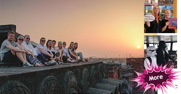 Taking pause in the Pink City