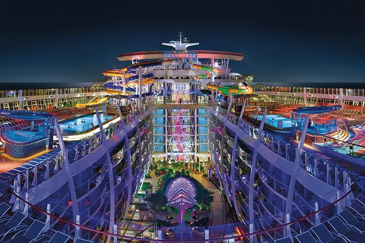 Top deck Royal Caribbean