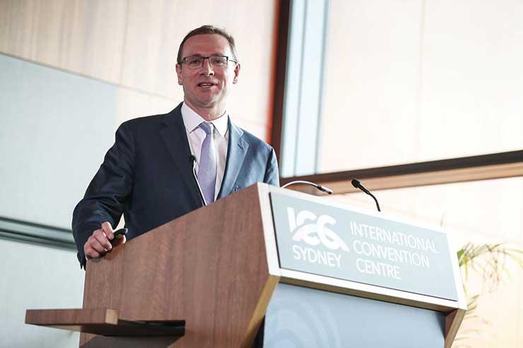 John O'Sullivan of Tourism Australia