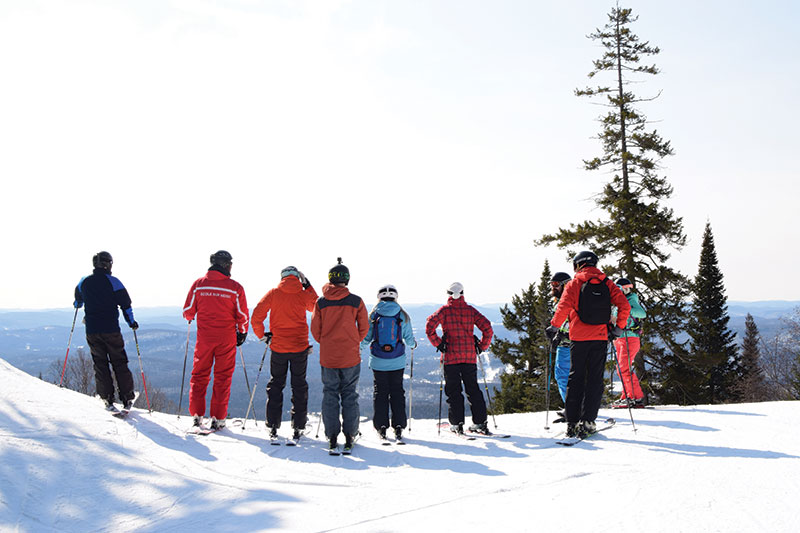 Making tracks in Canada's Tremblant